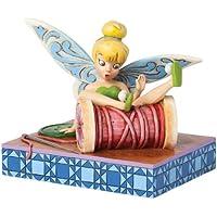 Enesco 4038498 Figurina Trilli su Bobina, Resina, Disney Tradition, Design di Jim Shore, 12 cm