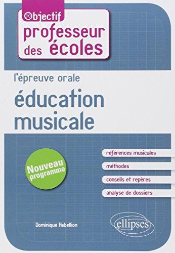L'Épreuve Orale Éducation Musicale au Concours de Professeur des Écoles
