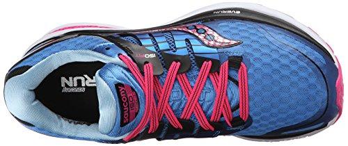 Saucony Triumph Iso 2, Chaussures de Running Compétition Femme Bleu (Blue (Blue/Pink)Blue/Pink)