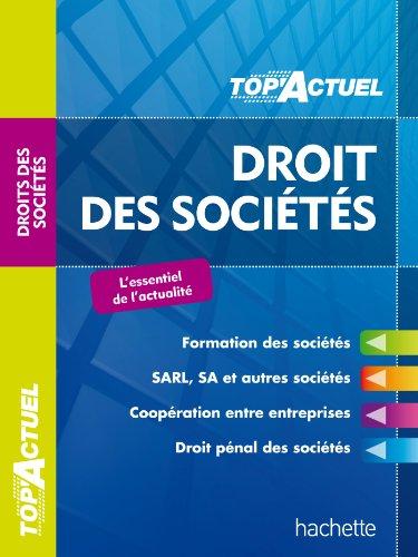 Droit des sociétés par Elise Grosjean-Leccia, Christiane Lamassa, Marie-Claude Rialland
