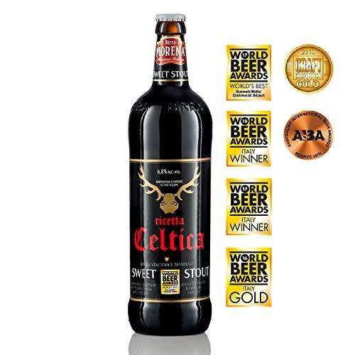 Birra Morena Celtica Sweet Stout da 75cl - premiata come la miglior birra al mondo
