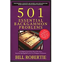 501 Essential Backgammon Problems: 2nd Edition