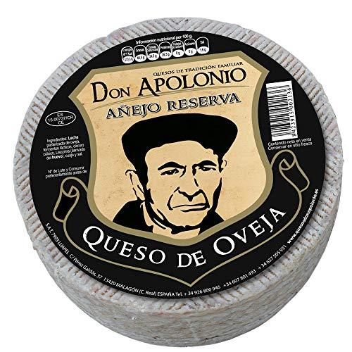 Queso de Oveja Don Apolonio Añejo Reserva 1,8KG (1,8 KG)