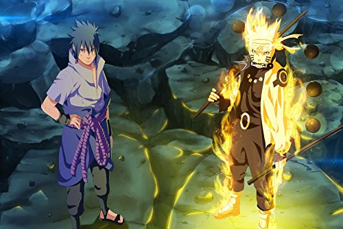 Naruto Customized 21x14 inch Silk Print Poster Seda Cartel/WallPaper Great Gift