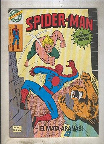 Comics Bruguera: Spiderman numero 42 (numerado 1 en trasera)