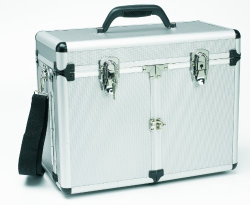 Friseur-trolley Box (Fripac-Medis Aluminium-Werkzeugkoffer mit Flügeltüren)