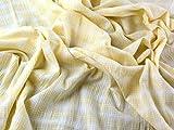 Woven Check Baumwolle & Modal Stretch Seersucker Kleid