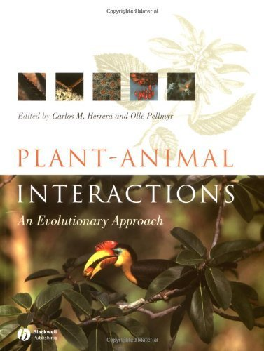 Plant-Animal Interactions: An Evolutionary Approach (2002-02-01)