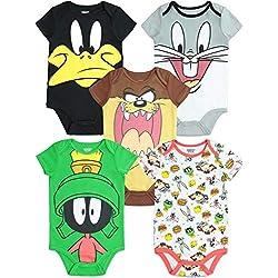 Warner Bros. Looney Tunes - Body para bebé (5 Unidades) - Multi - 6-9 Meses