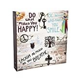 ARPAN Grand antidérapant en Album photo peut contenir 500 photos 15,2 x 10,2 cm – Vie slogans Anglais Album photo