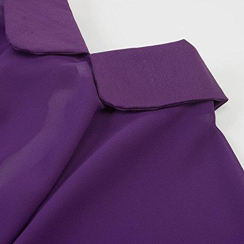 U-shot -  Vestito  - linea ad a - Senza maniche  - Donna Purple