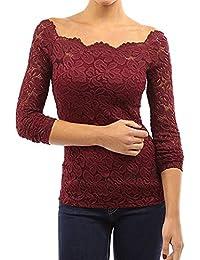 Blusas Elegible Tops Internacional es Camisetas Envío Amazon Y U07vqwxx