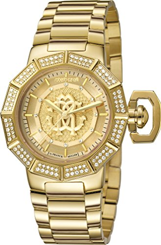 Roberto Cavalli Women's Champagne Dial Watch RV1L003M0076