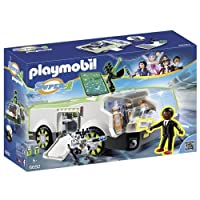 Playmobil 6692 Super 4 Techno Chameleon with Gene