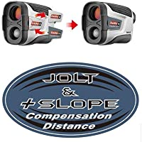 CaddyTek Golf Range Finders 5-800 Yard 6X Magnification JOLT and SLOPE Compensation Distance with FlagSeeking Technology