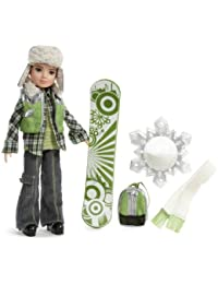 MGA Entertainment Moxie Boyz Magic Snow Series 11 Inch Doll - JAXSON With Artificial Snow, Snow Hat, Scarf, Backpack...