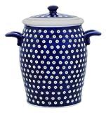 Original Bunzlauer Keramik Rumtopf 4.2 Liter / Mehrzwecktopf / Keramiktopf im Dekor 42