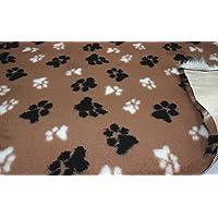 CRS Fur Fabrics Ropa de Cama Profesional no Deslizante para Perros y Cachorros LG Paws,