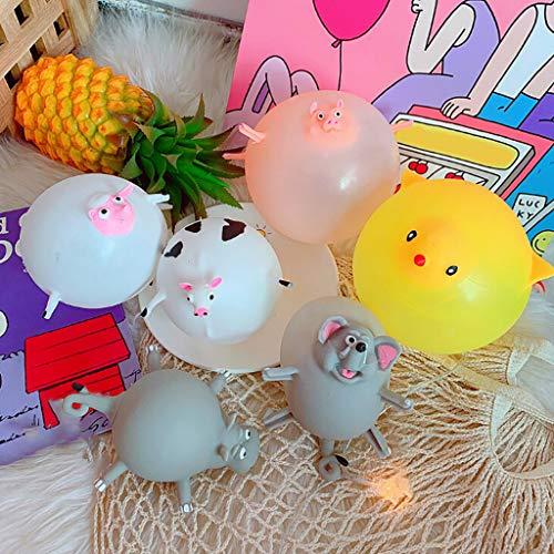 Mitlfuny Auto-Modell Plüsch Bildung Squishy Spielzeug aufblasbares Spielzeug im Freien Spielzeug,Ballon Spielzeug aufblasbare Dekompression Ballons Blow Up Ballons für Kinder (Lift-kits Für Tundra)