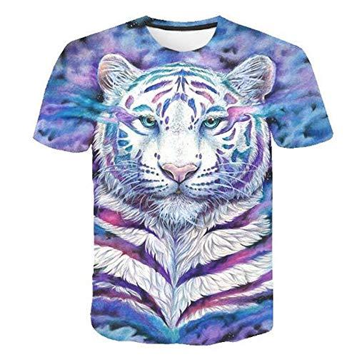 3D Print Weste Herren Tank Top Fitness Ärmelloses Shirt Herren Bekleidung Sportswear Unterhemd Sommer,Lässiger Komfort-3D-Druck - 1 Farbe S