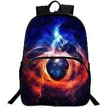 Backpack Mochilas Escolares Galaxia Mochila bolsa de Universidad y Escuela Daypack para Niños y Niñas Adolescentes