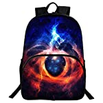 GIM School Backpack, Unisex Fashion Galaxy Pattern School Bags College Casual Laptop Rucksack for Teen Boys and Girls -F04 - childrens-backpacks