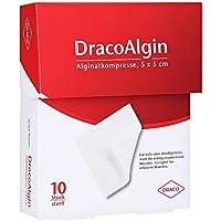 DRACOALGIN 5x5 cm Alginatkompresse 10 St Kompressen preisvergleich bei billige-tabletten.eu
