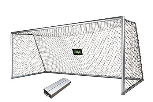 Exit Fußballtor Scala Aluminium Tor 500x200cm mit Gegengewicht, 5838 (Aluminium-tor)