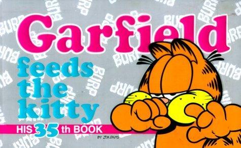 Garfield Feeds the Kitty: #35 by Jim Davis (September 07,1999)