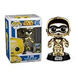 Funko - Figura de vinil Star Wars  C-3PO Oro (3245932)