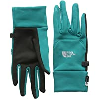 The North Face W Etip Glove - Guantes para Mujer, Color Verde, Talla XS