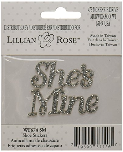 lillian-rose-shes-mine-chaussures-stickers-19cm