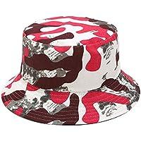 Rinder - Sombrero de camuflaje reversible para exteriores, diseño de camuflaje, A