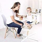 ZLMI Kinder-Essstuhl Tragbare Falten-Multifunktionsbaby EIN Tisch Verstellbar 0-6 Jahre Alt