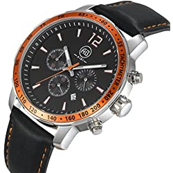 AIBI Waterproof Multifunction Men's Sport Chronograph Watch with Stopwatch Function