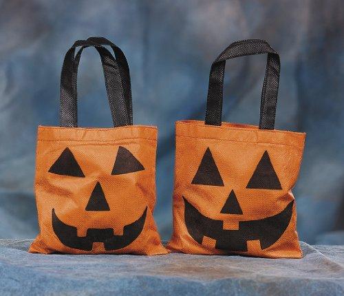 Halloween Sammelbeutel Süßes oder Saures klein 12 Stück Kürbis Palandi® (Süßes Oder Saures)