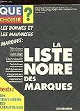 QUE CHOISIR? N°192 FEV 1984. LES BONNES ET LES MAUVAISES MARQUES. LA LISTE NOIRE DES MARQUES. TELEVISEURS. LAVE-LINGE. LAVE-VAISSELLE. CUISINIERES. REFRIGERATEURS. CONGELATEURS. ASPIRATEURS. TESTS: LES TEINTURES. LES CHAUFFE-EAU