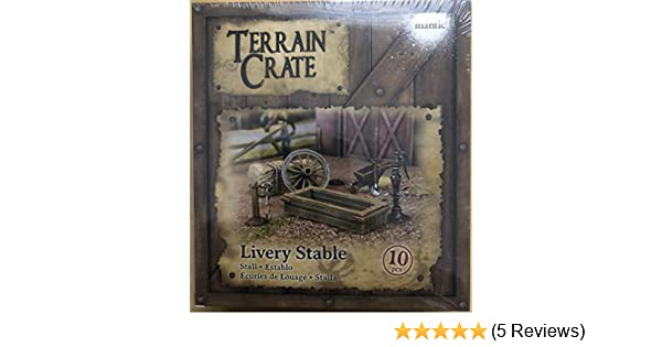 Livery Stable MANTIC MGTC132 Terrain Crate