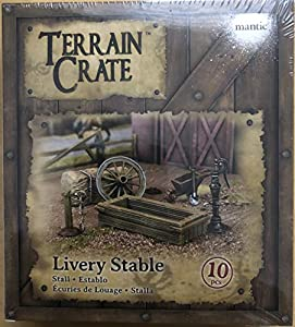 Mantic Games MGTC132 TerrainCrate: Livery Stable, Multi vídeo Juego