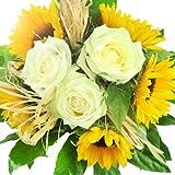 Blumenstrauß Sonnenschein - Blumenstrauß versenden mit Rosenbote