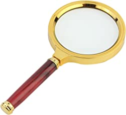Amigozz Antique Handheld 3X / 80mm Magnifier Magnifying Glass