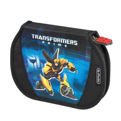 Herlitz 11280443 - Schüleretui, Flexi Transformers Bumblebee, 26-teilig