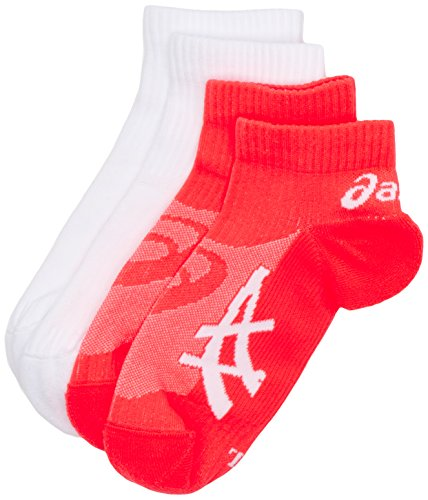 asics-pulse-socks-pack-of-2-fiery-flame-real-white-size-2