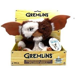 Desconocido Gremlins 634482000000 - Gizmo Peluche bailarín, 20 cm (NECA NEC0NC30630) - Peluche Gizmo bailarín