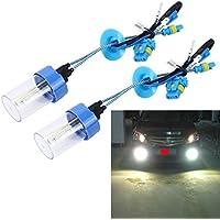 FINA CALIDAD Luz, 2 piezas H3 55W 4300K Lámparas de xenón bombillas OCULTADAS, AC 12V ,GISION