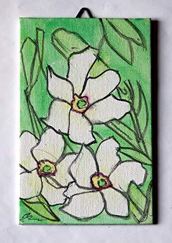 n Aquarell gemalt, auf Leinwand Papier Abmessungen cm 10x15x0,3 cm, bereit, an der Wand befestigt zu werden. Hergestellt in Italien, Toskana, Lucca. Erstellt von Davide Pacini. ()