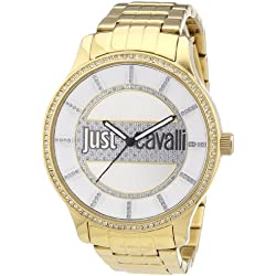 Just Cavalli Huge - watches (Bracelet, Female, Stainless steel, PVD, Gold, Stainless steel)