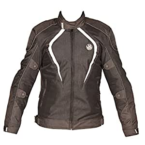 Rynox Nylon Mesh Tornado Jacket (Black, 2X-Large)