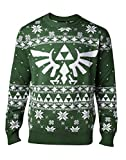 Nintendo Herren Pullover Knitted Royal Crest Christmas Sweater