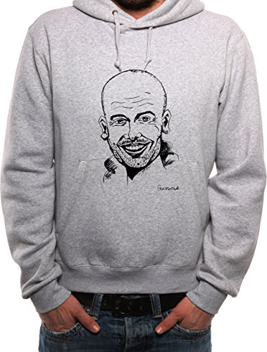 mister-merchandise-homme-sweat-a-capuche-hoodie-pep-josep-guardiola-men-pull-taille-xxl-color-gris